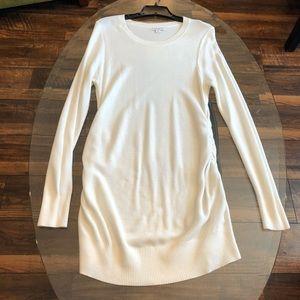 Liz Lange Cream Maternity Sweater